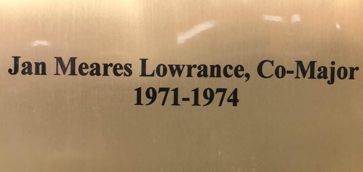 1971-1974 Jan Meares Lowrance, Co-Major