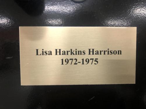 1972-1975 Lisa Harkins Harrison
