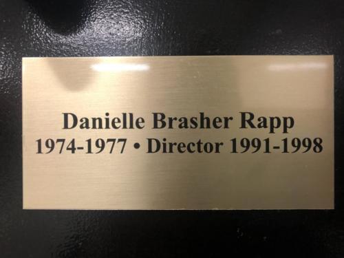 1974-1977 Danielle Brasher Rapp 1991-1998 Director