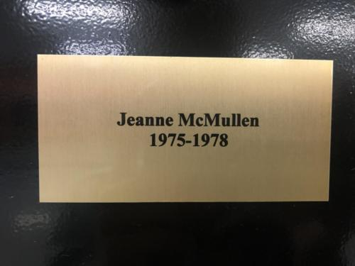 1975-1978 Jeanne McMullen