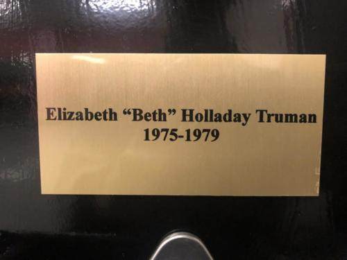 1975-1979 Elizabeth Beth Holladay Truman