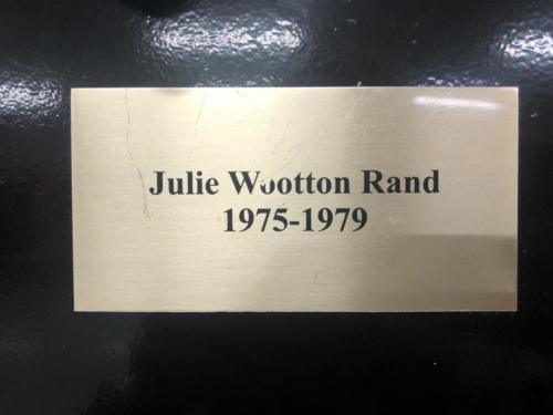 1975-1979 Julie Wootton Rand
