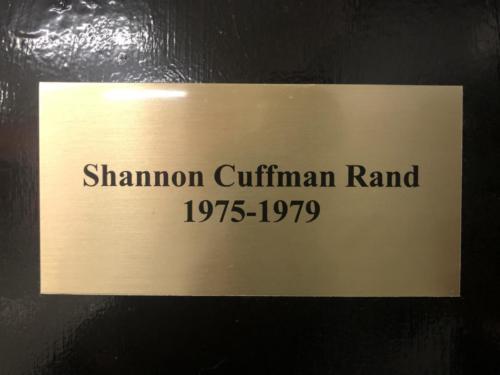 1975-1979 Shannon Cuffman Rand