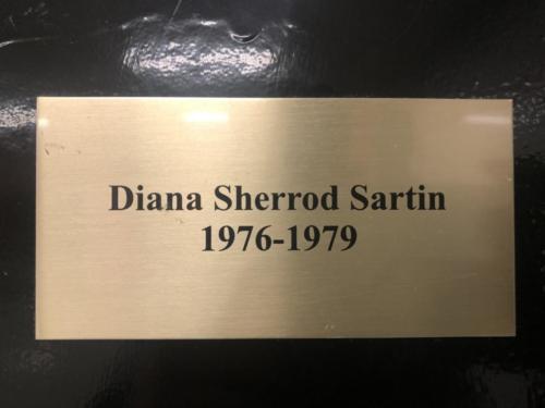 1976-1979 Diana Sherrod Sartin