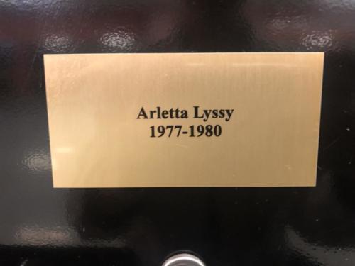1977-1980 Arletta Lyssy