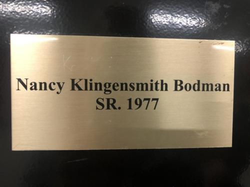 1977 Sr. Nancy Klingensmith Bodman
