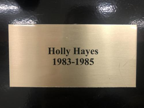 1983-1985 Holly Hayes