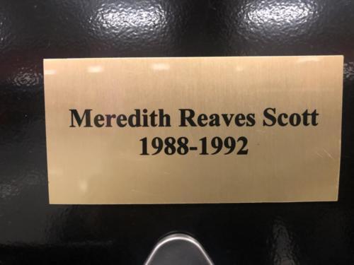 1988-1992 Meredith Reaves Scott