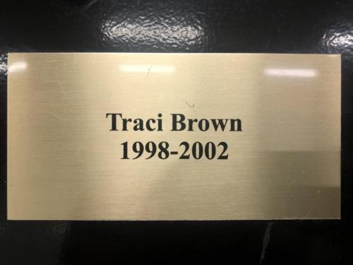 1998-2002 Traci Brown